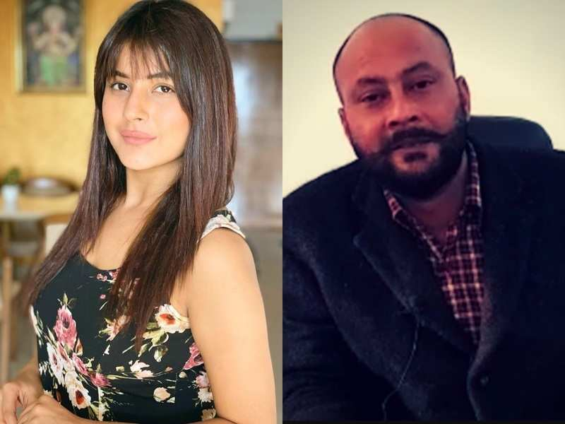 shehnaz gill and father