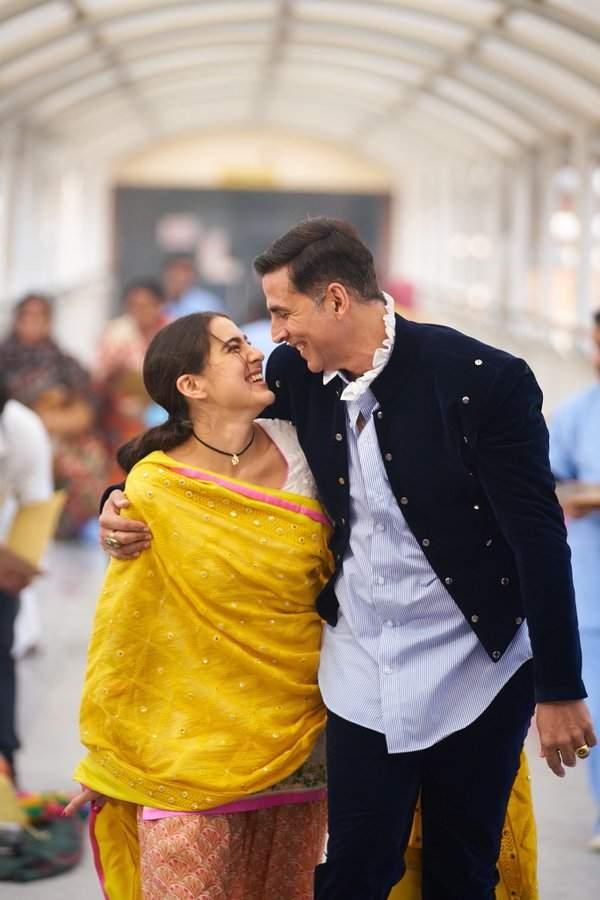 akshay kumar and sara ali khan